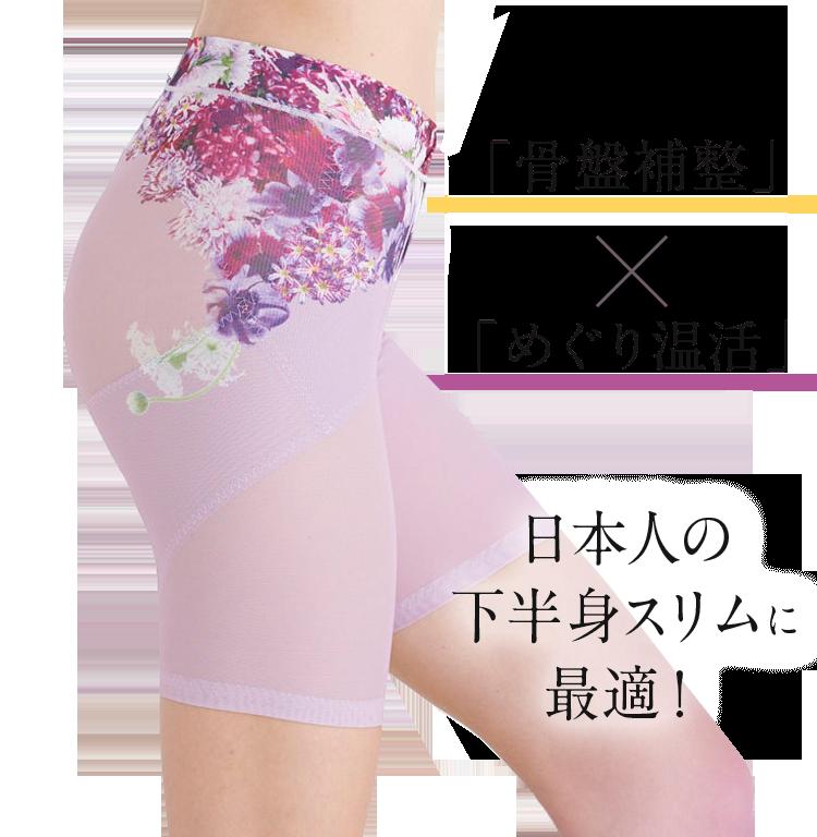 『骨盤補整』×『めぐり温活』 日本人の下半身スリムに最適!